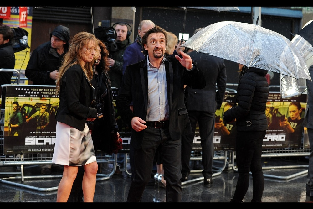 In the absence of Emily Blunt or Benicio Del Toro to photograph - here's Richard Hammond, formerly of 'Top Gear' fame.