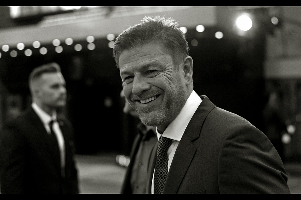 """How do you think I feel? I feel like I'm looking at a ghost every time I look at a mirror!""  According to an article I found on the internet, apparently Sean Bean dies in approximately 32% of films he's in. Which is kind of spoilerifically high."