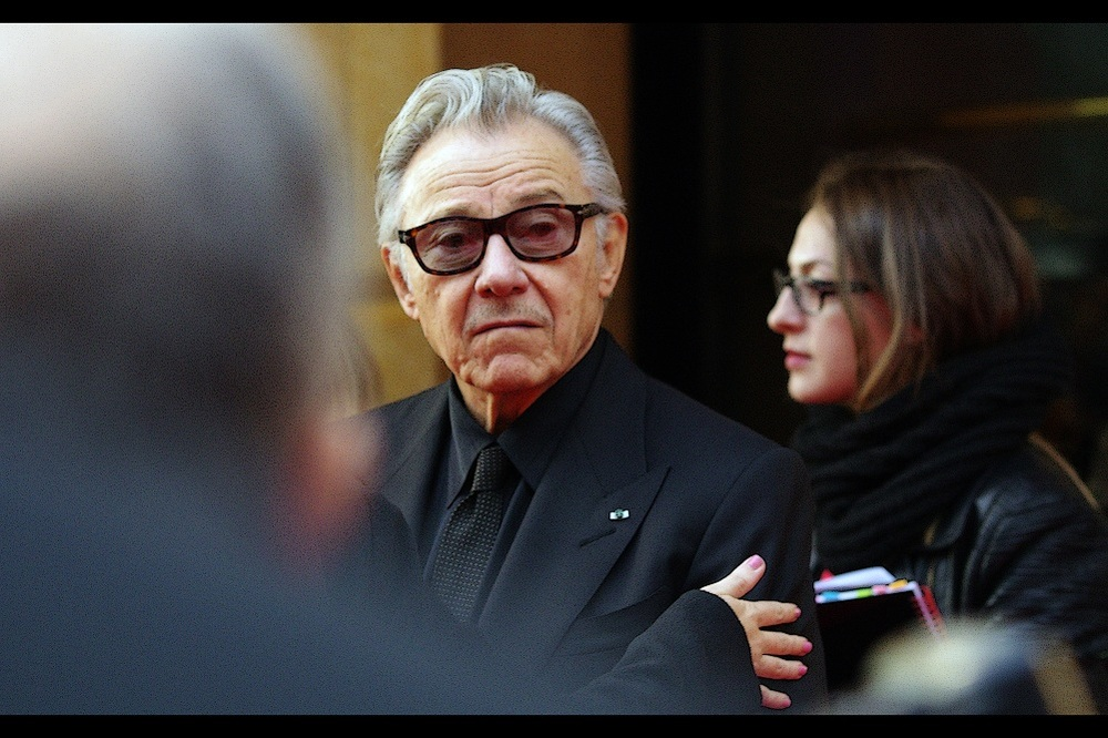 Harvey Keitel just punched me in the face merely by looking at me with vague disdain. Actually, my camera bore the brunt of the blow, and I feel awesome.
