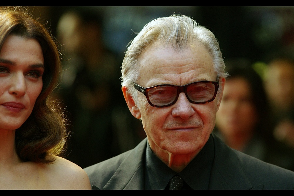 I'm not actually game to speculate what Harvey Keitel is thinking in any given moment.... (but I do like the black tie/ black shirt/ black jacket combo)