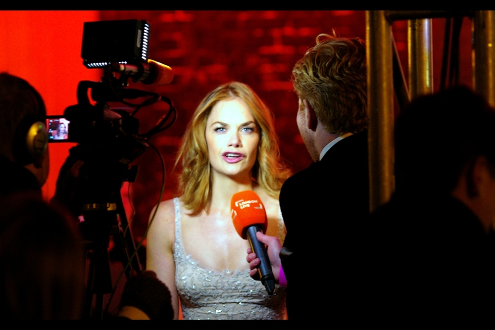 Meanwhile, speaking of futile pursuits.... thanks to indifferent Pentax autofocussing and equally indifferent Nikon metering, I'm still trying after many attempts to take a great photo of Ruth Wilson. The closest I've come is possibly 'Saving Mr Banks' from a few years ago. This is the Pentax's attempt.