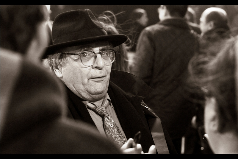 Not in this movie but arguably worth photographing anyway is actor Sylvester McCoy, best known for playing Radagast The Brown in the three-movie Hobbit Trilogy... by which I mean the theatrical releases by Peter Jackon, not the film  mercifully edited down into a single 4hr movie by The Tolkien Editor  which removes him entirely. I did photograph McCoy at the premiere of  The Hobbit : Battle of the Five Armies back in 2014.