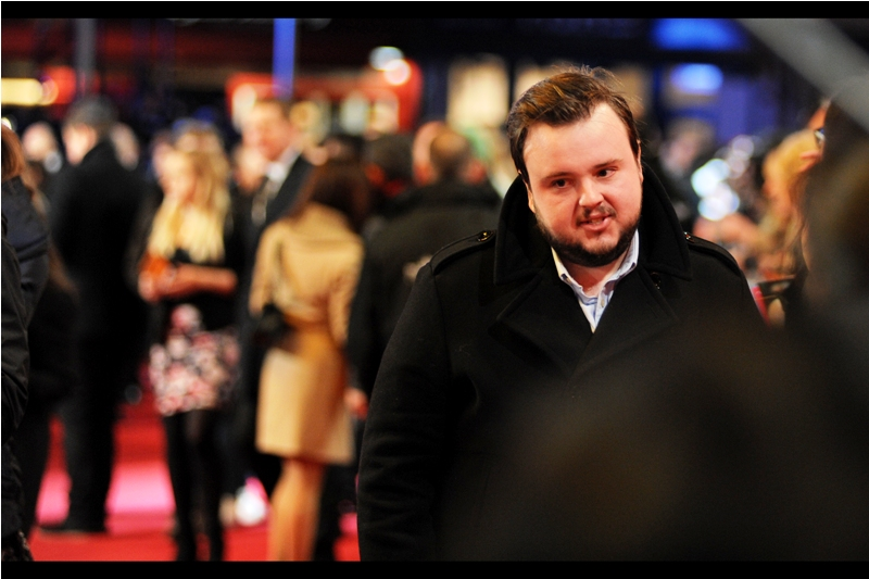 """So the question is.. am I John Bradley who plays Samwell Tary on Game of Thrones or not? And would you photograph me if I wasn't?"" (ps. yes, he's John Bradley)"