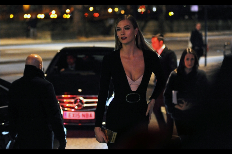 """Did you just take a battery out of your pocket or are you just happy to see me?"" I.... am glad I've restored some charge to my battery. As model Karlie Kloss arrives, stopping traffic and causing hearby helicopters to burst into flame. I assume."