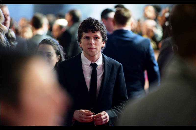 """One of those two clowns is a vigilante freak and the other is an alien menace. I still don't see how I'm the VILLIAN here.""  Jesse Eisenberg plays the (I'm sure) misunderstood 'hero' Lex Luthor in this film."
