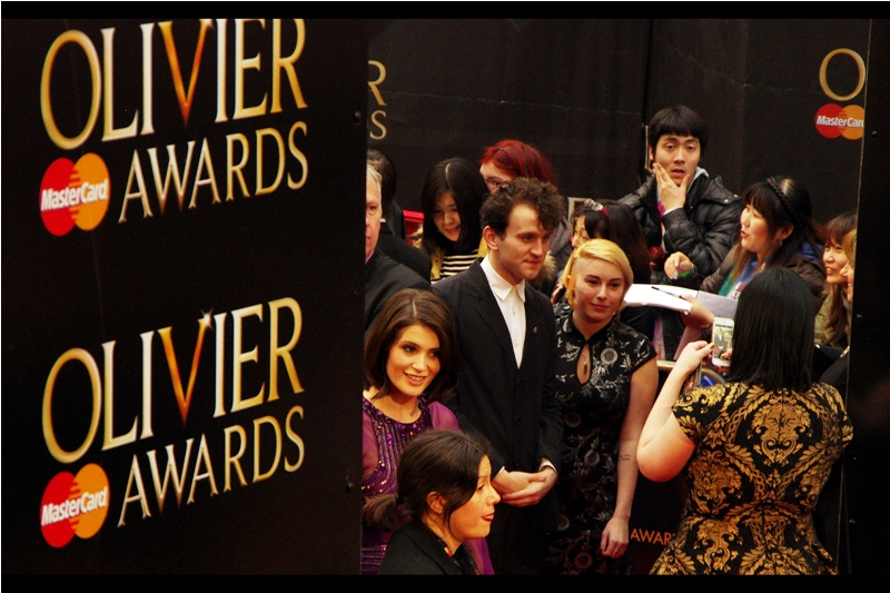 Excitingly, I know who Gemma Arterton is! (For one thing, she was at  last year's Olivier Awards )