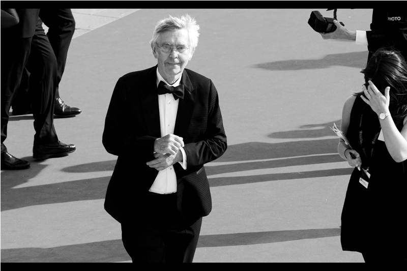 """Time to sign things. From detention slips to school excursion permissions, I'll do anything....""  Tom Courtenay was in the recent  ""Dad's Army"" movie,  and also  ""Quartet""  and has been nominated for two Oscars and won two (film) Baftas. And won a TV Bafta on the night."
