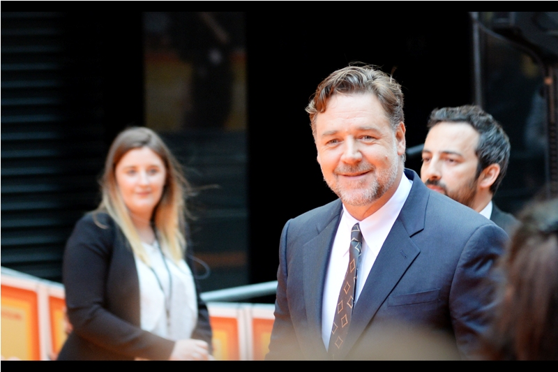 Australia's own Russell Crowe elects to be interviewed.