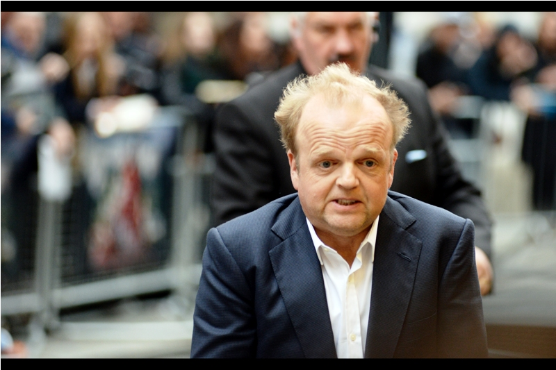 """He's not asking for the sock back, is he??""  Toby Jones is also a member of the ever-increasing Marvel Cinematic Universe, having played the German (correction : Swiss) scientist Armin Zola in the first two Captain America movies."