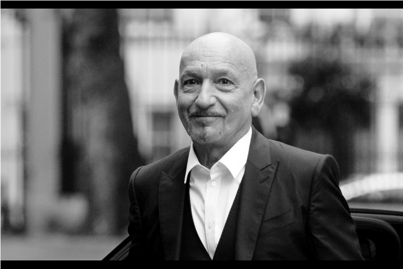 """Ties? Where I'm going, I don't need a tie, and they still call me 'Sir' "" . (Sir) Ben Kingsley won an Oscar for 'Gandhi' back in 1982, but more recently played 'Apparently Not The Mandarin' in Shane Black's  ""Iron Man 3"""