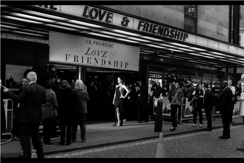 "Love and Frienship is a movie adapted from a Jane Austen short story.... unlike "" Pride and Prejudice and Zombies""  which was (maybe) based on a Jane Austen nightmare."