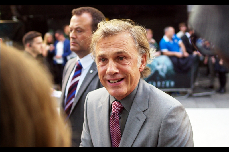 """You liked me in 'The Green Hornet'? And yet I'd been given assurances by my agent that all copies had been destroyed and every last person who saw that thing hunted and down and killed....."" - Dual Oscar-winner Christoph Waltz has arrived!"