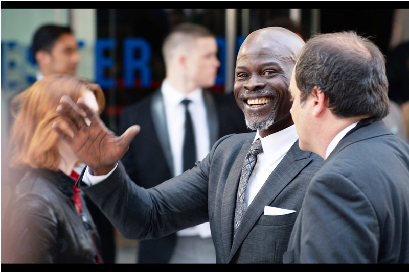 """I have an action figure! And it's not wearing a tie!"" - Although Djimon Hounsou is probably still best known for being in Gladiator (2000), he also had a cool role in Michael Bay's too-easily-forgotten (and unfairly-negatively-reviewed-if-remembered) 'The Island' (2005) before having a role as a henchman in Guardians of the Galaxy"