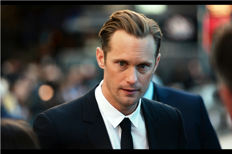 """The day we finished screening? I ate two skittles and four m&ms... I'd been on an insane amount of calories and I just wasn't hungry anymore...."" - I can't remember how many calories per day they said Alexander Skarsgard was consuming for the role, but it seemed the kind it was medically ill advised not to do accompany with near-constant weight training"