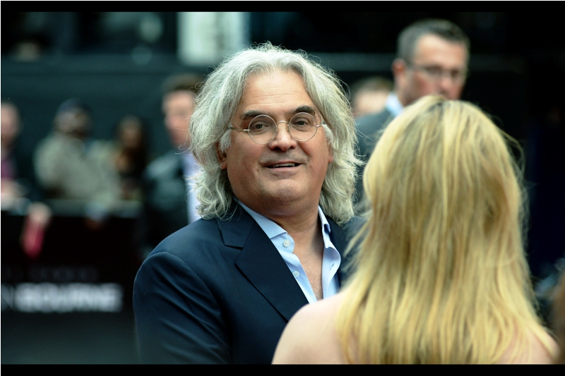 Paul Greengrass's outstanding directorial credits include the prior two Matt Damon Bourne films, the sadly disregarded The Green Zone and  the exellent Captain Phillips . Also, while I personally too subscribe to the no tie' philosophy, I don't quite have the confidence (or failing that chunky gold medallion necklace) to have quite this many buttons unbuttoned.