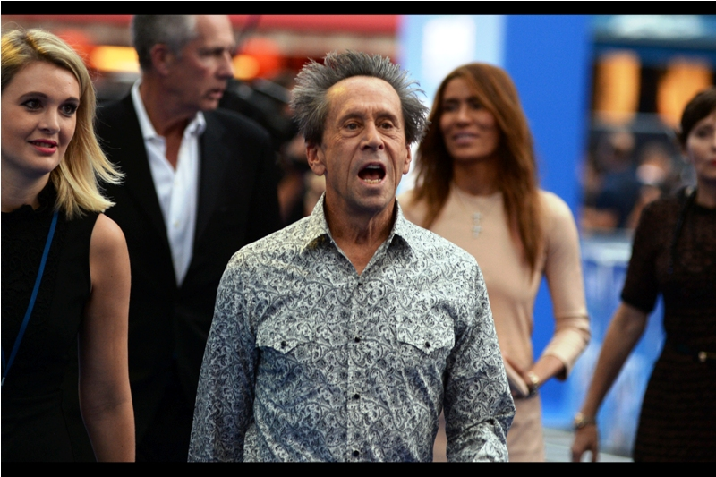 """Guys? Can I borrow a tie?""  Among this film's 16 producers is Brian Grazer and Brian Grazer's hair."