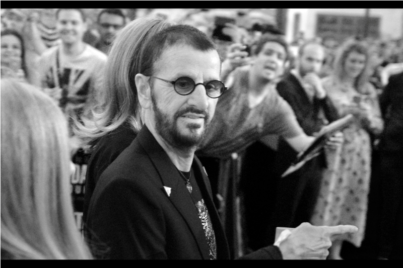 """Didn't you see that youtube clip? It said it so much better than I could. Even though it was me who said it"" - bottom line, Ringo Starr strongly prefers not to sign autographs for fans anymore."