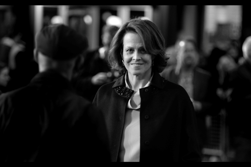 """Oh, no. That Ghostbusters reboot didn't do so well at the box-office? Well that's a shame"".  Sigourney Weaver played Dana in the original Ghostbusters, and sadly was unable to resist what I assume was a lot of pleading (and a dump truck full of money) to appear as a cameo in the most recent Ghostbusters film."