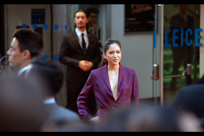 """at least one of you guys could offer to loan me a t-shirt rather than simply stare""  - Sonoya Mizuno is in this movie, and was also in the brilliant Ex Machina."