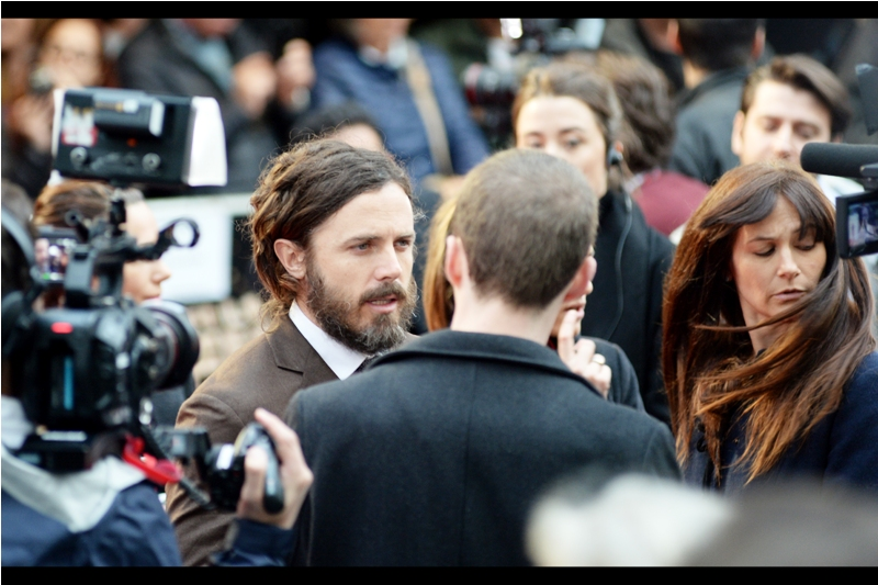 """If you want to stop the interview to capture the hair-swish of that lady over there, I'd totally understand"""