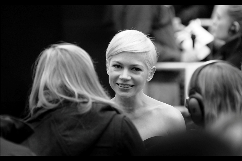 "I've previously photographed Michelle Williams at the premiere of  ""Oz The Great And Powerful"""