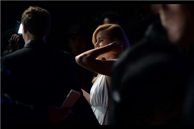 And, finally, the inevitable. Amy Adams herself is now blocking shots of Amy Adams.