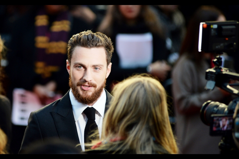 """A THIRD Kick-Ass movie? I'm not sure I can play an awkward teen so much anymore. But a sequel to 'Nowhere Boy' might be interesting""  - Aaron Taylor-Johnson played the young John Lennon in that movie, which had its own  BFI LFF premiere back in the day ."