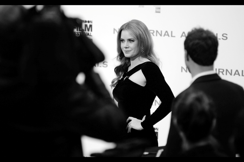 """Okay, a few more won't hurt""  After more or less failing to photograph the lovely Amy Adams for the fourth or fifth time at  the premiere of ""Arrival""  just a few days ago, I get another chance today."