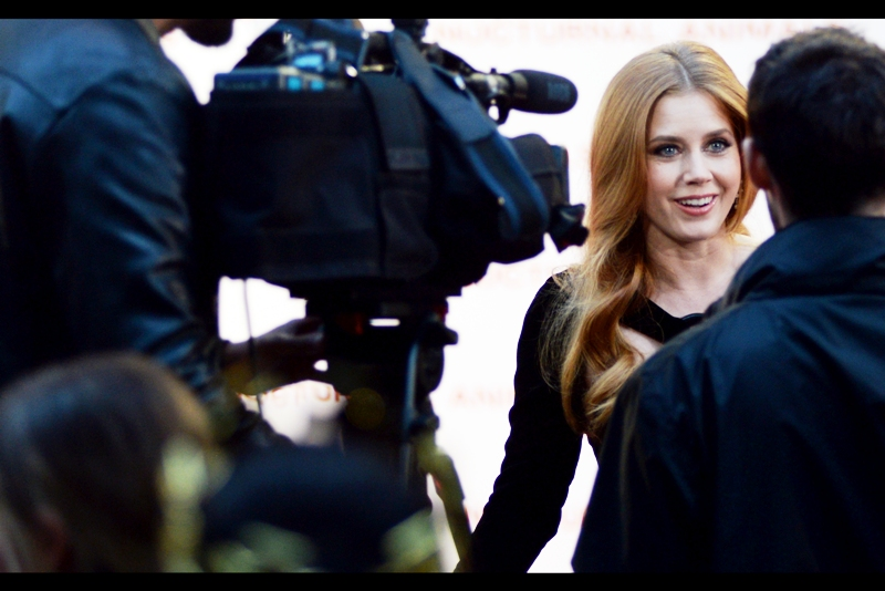 I like Amy Adams. There. I've said it. (Like... again). Also - I like this photo.