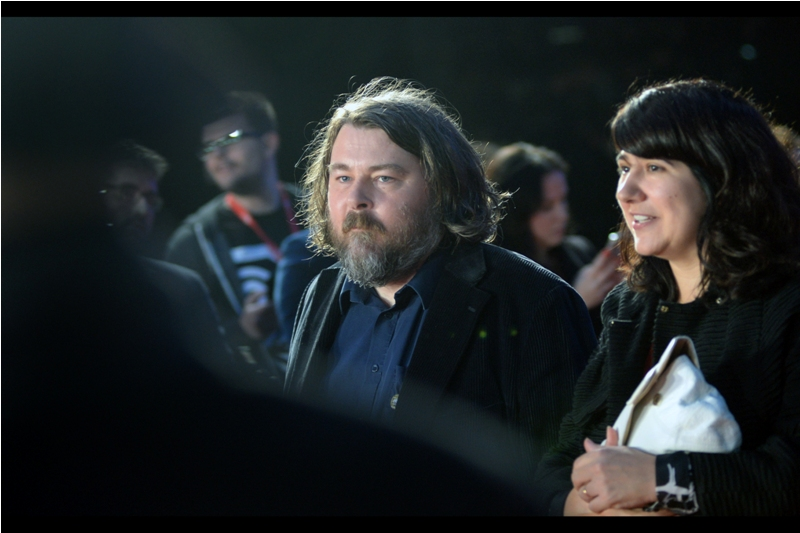 "Ben Wheatley (and possibly, if memory serves, also Ben Wheatley's shirt) was/were at last year's BFI LFF  premiere of ""High-Rise"" ."