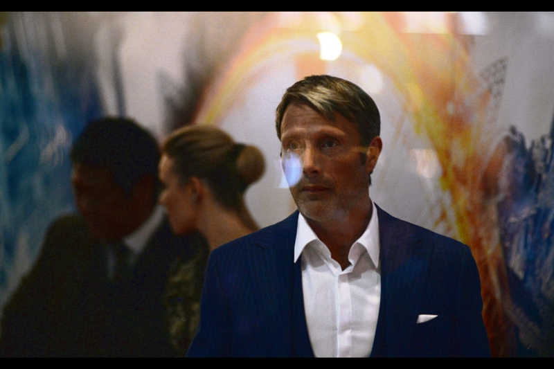 If any other media organisation publishes photos from this event with reflections coming off glass, they've faked it in photoshop, okay? Mine on the other hand, (and much like my encroaching baldness) are the real, thing. Oh, and also this is Mad Mikkelsen.