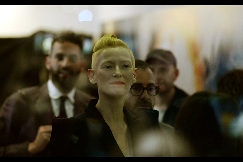 """I'd have let you all in if I'd known you were out there. Honestly!"" - Tilda Swinton is so great as an actress I'd 100% believe her, too."
