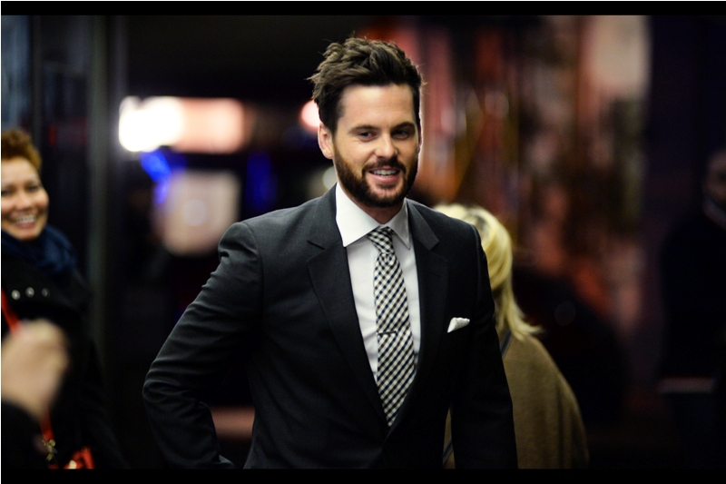 """It doesn't get any better than that. Or at least I hope not"" - Tom Riley is best known for being in Da Vinci's Demons.. and according to imdb.com was also in one episode of Dr Who (whereas Jenna Coleman - above - was in thirty nine)"