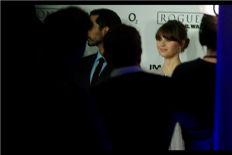 Felicity Jones is this movie's lead, and in its excitement the Pentax's autofocus jumps so far off-base I feel like I might have to apologise for people nearby being hit by it.
