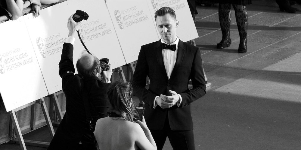 May 8th :  The 2016 Television Baftas  - once again I photographed the event from OUTSIDE the event. Because that's how I roll (and/or how I take photos that if not better are at least different to the ones everyone else takes)