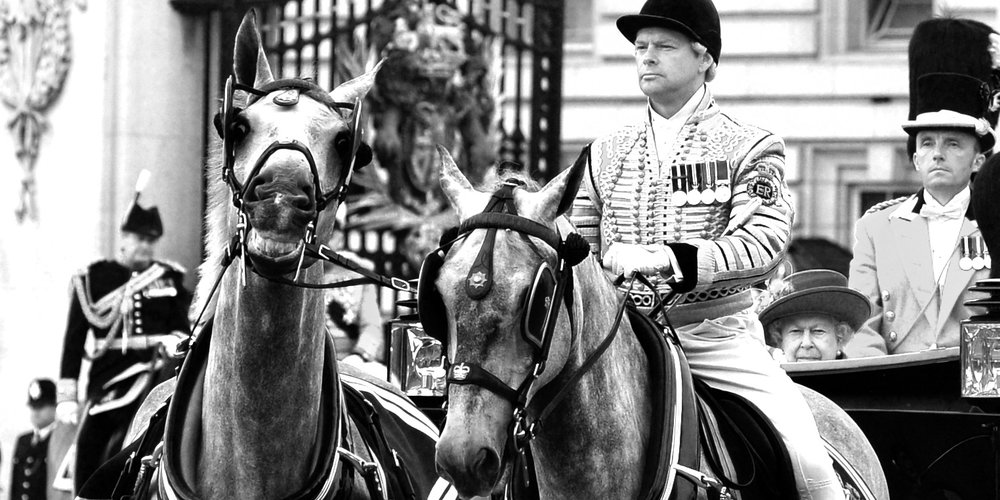 June 11th : Horse Photobombs Queen - one of my favourite shots of the year, taken before  'Trooping of the Colour'