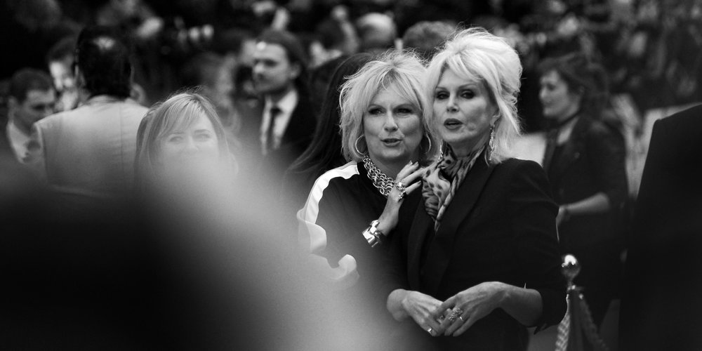 June 29th :  'Absolutely Fabulous'  - I have no real desire to watch the film, but the premiere was ... interesting (I did finally manage to photograph Kate Moss) (edited to add : I've since watched it and I pretty much hated it, and its main characters)