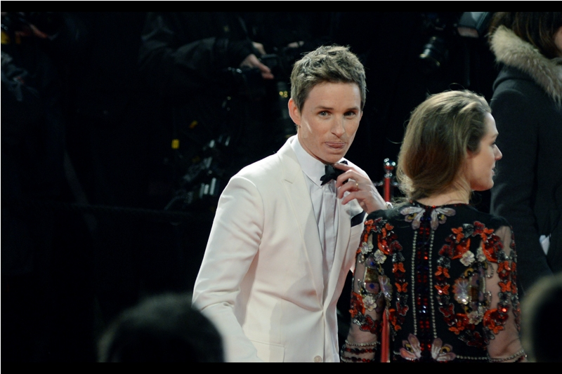 "Every year that passes is one more year between the present year and his association with the Wachowski's ""Jupiter Ascending"". Eddie Redmayne, along with winning an Oscar (for The Theory of Everything, not Jupiter Ascending), is most recently of  ""Fantastic Beasts and Where to Find Them""  fame."