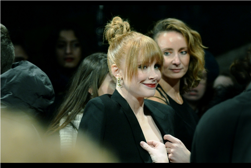 """Please don't overplay the family resemblance aspect""  - Bryce Dallas Howard is probably best known for being the female lead in Jurassic World... as well as being the daughter of director Ron Howard."