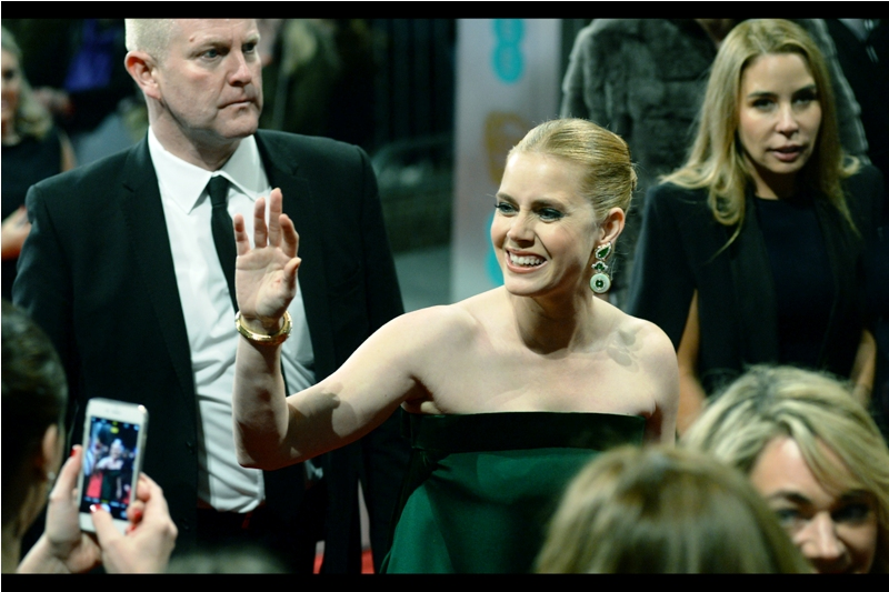"""No, I won't be signing any autographs, but thank you so much for asking!"". Amy Adams featured in two nominated movies this (last) year : Arrival and Nocturnal Animals."