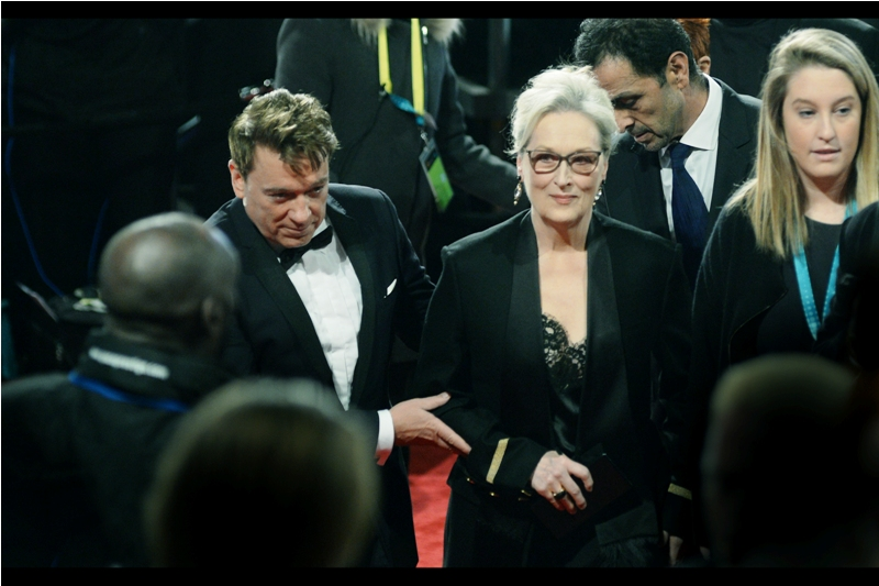 As of this year, Meryl Streep has been nominated for a staggering 20 Oscars (having won 3) and 13 Baftas (winning 2). It's fair to say that no matter how good you are at your job, you're not as good as Meryl Streep is at hers.