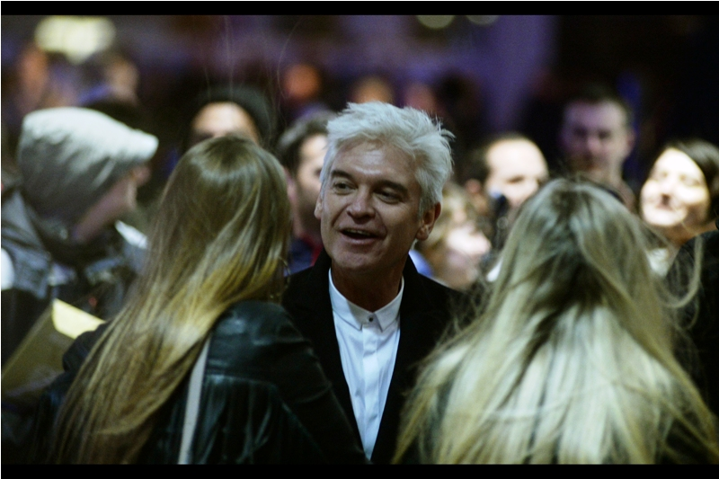 We have an actual celebrity! It's Philip Schofield, and outside of seeming to recall his daughter shamelessly flirting with me at a premiere years ago (which I'm not entirely sure I'm lying about), I don't know much about him.