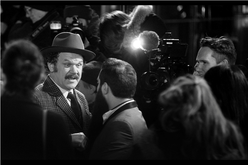 """This hat? It was a gift. From a guy. Sure, I was mugging him for his wallet at the time, but he gave me that hat of his own free will"" - John C. Reilly is in this film, though sadly his hat is not."