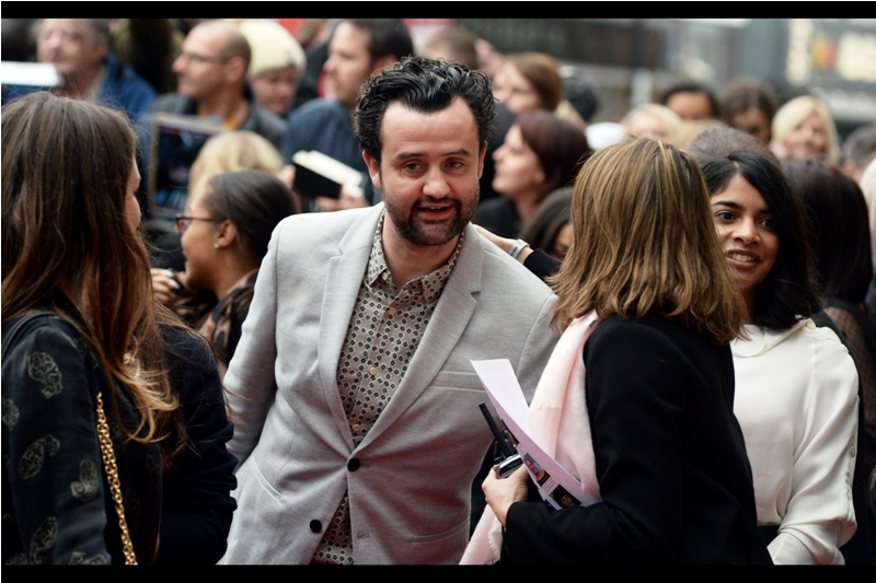 """I did shave. I shaved fifteen minutes ago. And I was wearing a tie. Also fifteen minutes ago"".  Daniel Mays was in Atonement, The Adventures of Tintin and Rogue One, but I last photographed him last year at  the 'Dad's Army' premiere."