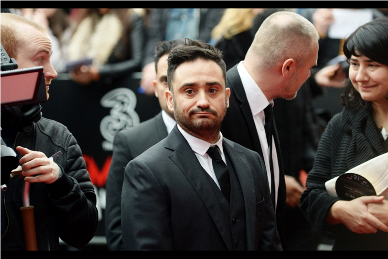 """That's my identical twin bodyguard behind me. Or, on those days I can't be bothered to direct my movies, I'm that guys indentical twin bodyguard"" - JA Bayona directed both 'The Impossible' with Ewan MacGregor and Naomi Watts, and more recently ""A Monster Calls"""