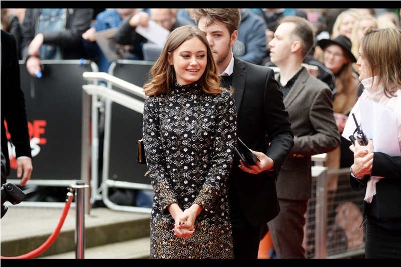 """It's almost as shiny, and 16 kilos lighter!""  - Ella Purnell's filmography lists such interesting movies as Kick-Ass2, Maleficent and The Legend of Tarzan, none of which I can remember her being in, curiously. But then it's late as I'm typing this."