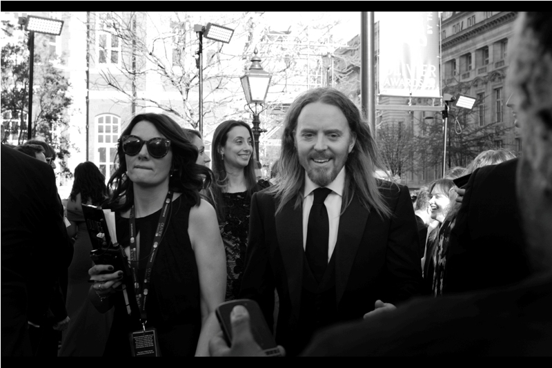 """I had my hair straightened weeks ago in preparation for the Oliviers""  - Australian comedian / singer Tim Minchin"