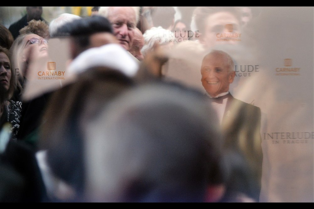 Although I don't actually know who 'Wayne Sleep' is, he was photographed (and tagged) on wireimage.com. But per imdb he has nothing to do with this movie at a cast/crew level. And I do particularly like the semi-orgasmic face of the reflection of the women on the top left of this shot. It's pretty clear she knows and appreciates who Wayne Sleep is.