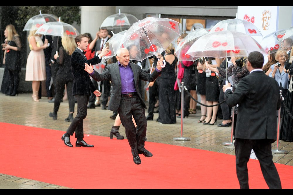 "Up until two days ago, I had no idea who Wayne Sleep was - now all of a sudden I've photographed him twice - today, and (more poorly) at   the premiere of ""Interlude in Prague""   last Friday."