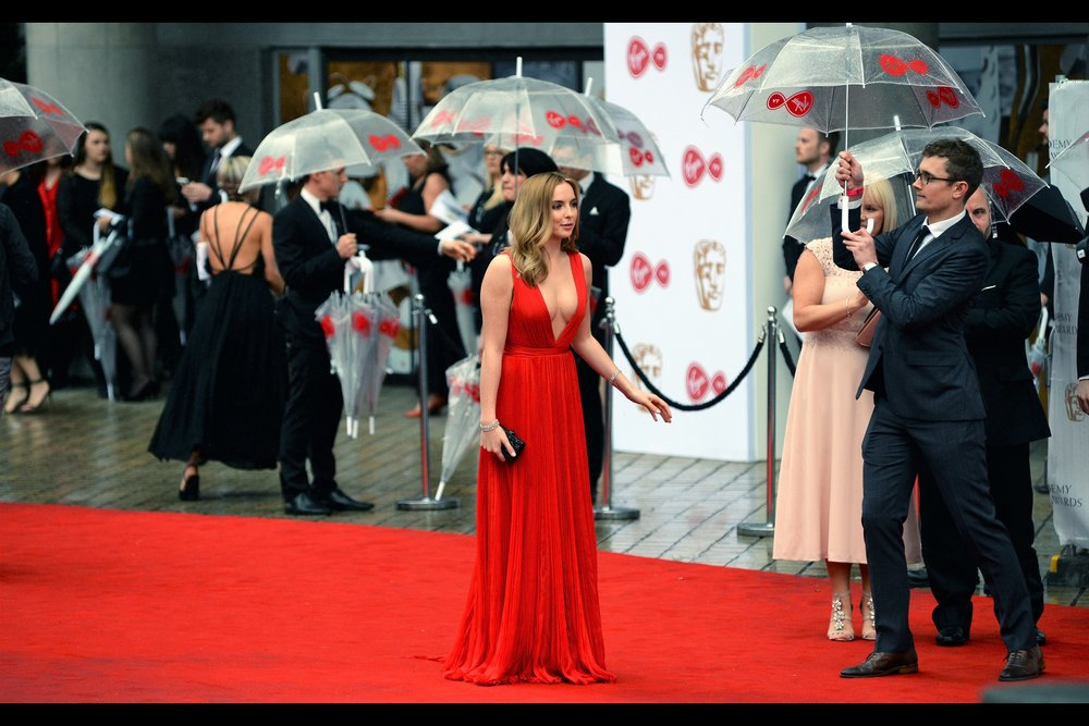 """The rain has shrunk my dress in the most unexpectedly awesome way. What do I do?"" - I don't know who Jodie Comer is. Not until After That Dress, I mean."